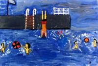 Και σε πισίνα και σε θάλασσα… με τέχνη!