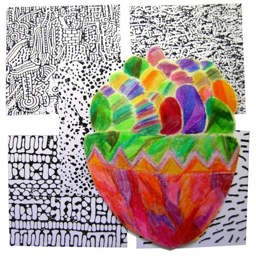 """Έργο τέχνης της Τζανετής Μυρτώς με θέμα το """"Πάσχα"""""""