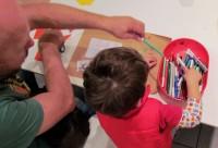 Μαμά, μπαμπά ζωγραφίζουμε μαζί; για παιδιά 2,5-5 ετών και γονείς